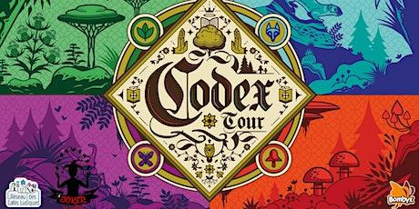 Codex Tour - Soirée Découverte billets