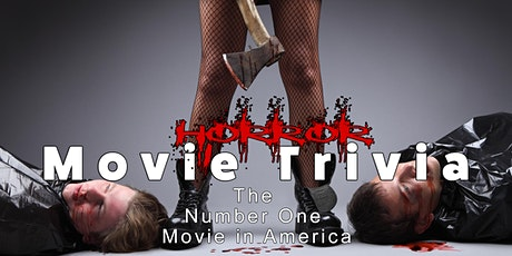 Virtual Horror Movie Trivia with The Number One Movie in America Podcast tickets