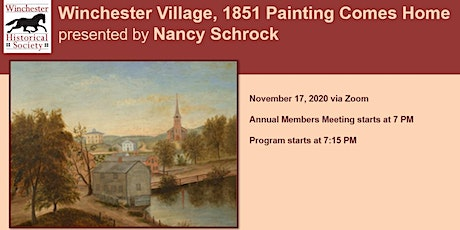 Winchester Village, 1851 Painting Comes Home tickets