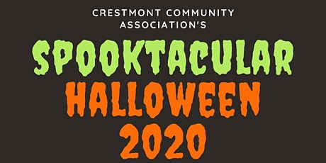 Crestmont's Spooktacular 2020 Halloween Parade and Dance tickets