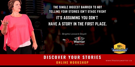 Discover Your Stories December 5, 2020 tickets