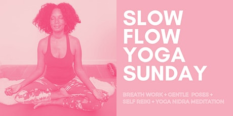 Slow Flow Yoga Sunday tickets