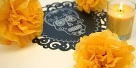 Dia De Los Muertos Virtual- Flower Craft (Grades K-3) tickets