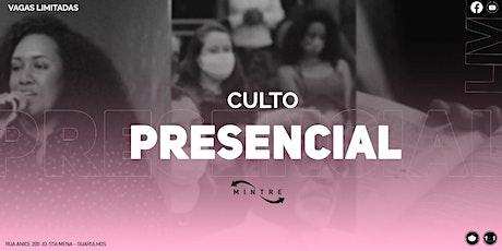 Culto presencial |  MINTRE ingressos