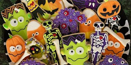 It's ALIVE Halloween Virtual Cookie Decorating Workshop
