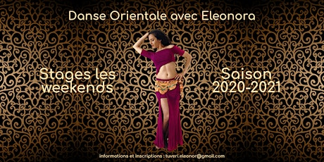 Danse orientale - Stages saison 2020-2021 tickets