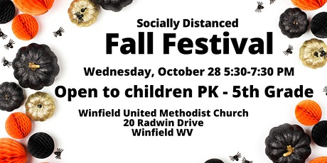 Socially Distanced Fall Festival tickets