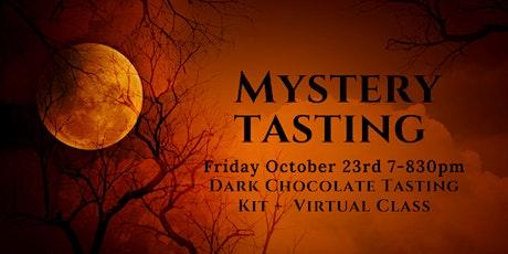 Mystery Chocolate Tasting (Virtual) tickets