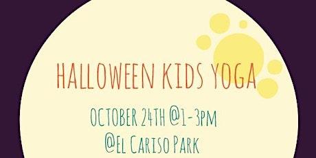 Halloween Yoga & Pumpkin Painting! tickets