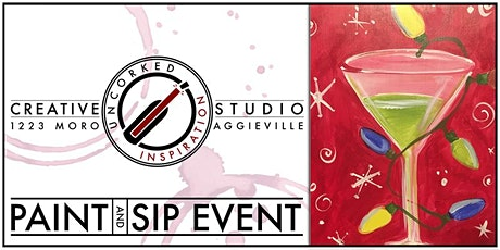 Paint & Sip |Christmas Martini tickets