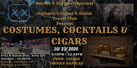 COSTUMES, COCKTAILS & CIGARS tickets