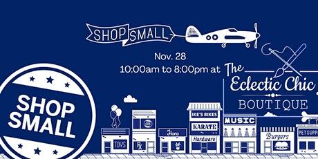 Small Business Saturday at The Eclectic Chic Boutique tickets
