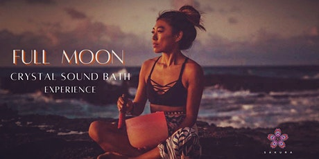 Full Moon Crystal Sound Bath tickets