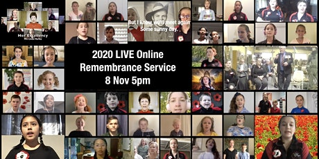 2020 Online Remembrance Day Service tickets