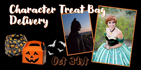 Character Treat Bag Delivery tickets