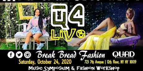 More than Music Fashion Show Symposium with Break Bread Fashion at Quad tickets