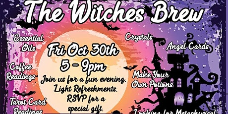 Tarot Card and Coffee Grind Readings @ The Witch's Brew (CO Vintage & Art) tickets