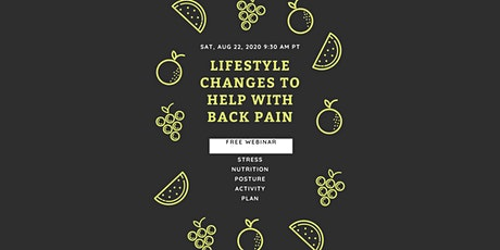 Lifestyle Changes for Back Pain