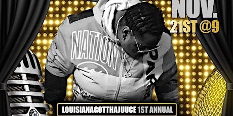 LouisianaGotThaJuuce 1st Annual Open Mic tickets
