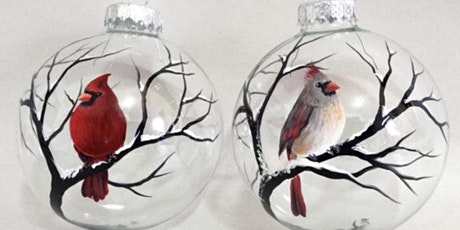 2 Cardinal Ornaments! Glen Burnie, SIdelines with Artist Katie Detrich! tickets