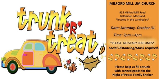 Church Halloween Party Maryland 2020 Baltimore, MD Trunk Or Treat Events | Eventbrite