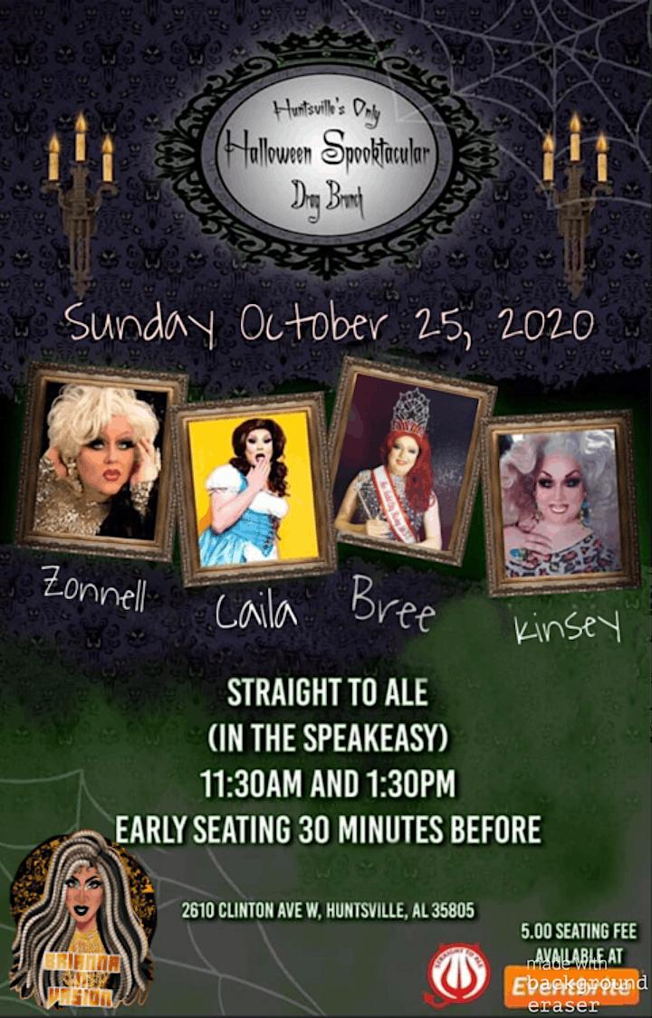 Halloween Events 2020 Huntsville Al October Huntsville's Only Drag Brunch Halloween Spooktacular Tickets, Sun