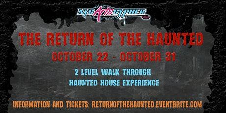Return of the Haunted tickets