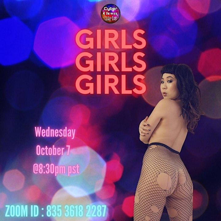 Cyber Clown Girls : Girls! Girls! Girls! image