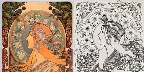 Zentangle Inspired Art : My Fair Lady – Mucha Mooka(ONLINE) 禅绕画延伸艺:窈窕淑女(线上) tickets