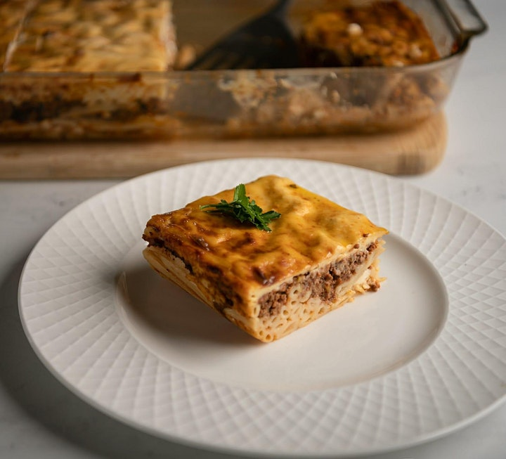Online Cooking Class - Learn to make Pastitsio (Greek Pasta Dish) image