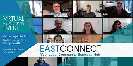 East Connect Virtual Open Day: Connecting & Helping Small Business Thrive tickets