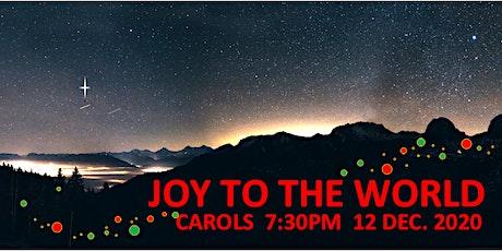 Joy to the World - Carols 2020 tickets