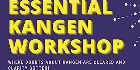 The Essential Kangen Workshop tickets