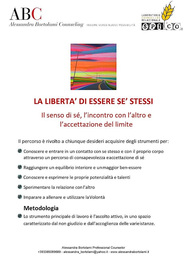 Immagine LA LIBERTA' DI ESSERE SE' STESSI