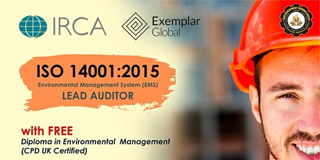 FREE ISO 14001:2015 IRCA Certified Lead Auditor Course Webinar (DEMO CLASS) tickets