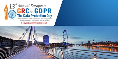 13th ANNUAL EUROPEAN GRC AND Data Protection Day tickets