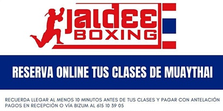 Clases JaideeBoxing Muaythai KIDS 2  (10 a 13 años) tickets
