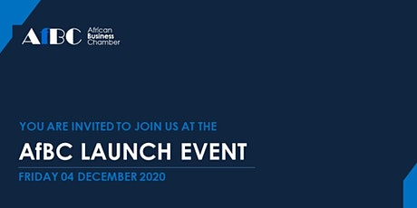 African Business Chamber (AfBC) Launch Event tickets