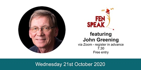 Fen Speak October 2020 tickets