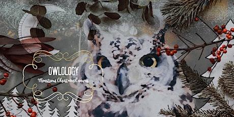 ★ Monstrous Wintry Canvas: Owlology : Children's Art Workshop: tickets