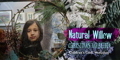 Natural Willow Christmas Wreath + lantern table Decoration: tickets