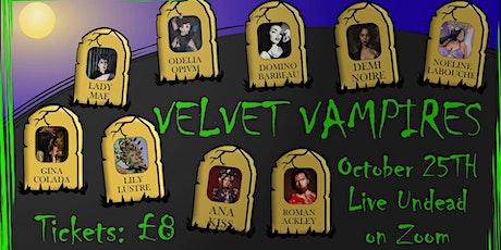 Corona Cabaret #7 - VELVET VAMPIRES tickets