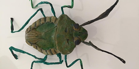 Minibeast Sculpture, Holiday Art Class for Children tickets