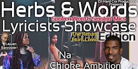 Herbs & Words Spoken Word & Smokin' Mics Lyricists tickets