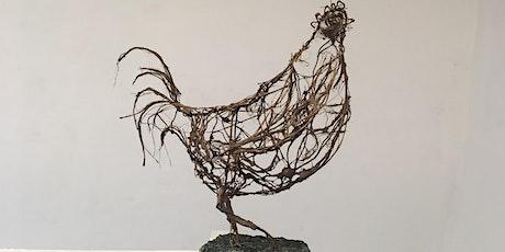 Wire Bird Sculpture Workshop tickets