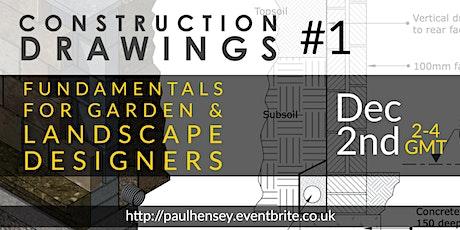 Construction detailing for landscape & garden design #1 tickets