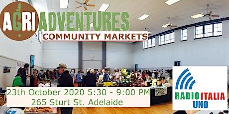 AgriAdventures Community Market October 2020 tickets