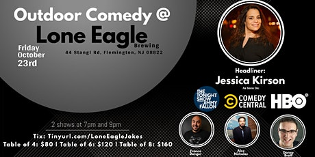 Outdoor Comedy at Lone Eagle with Jessica Kirson tickets