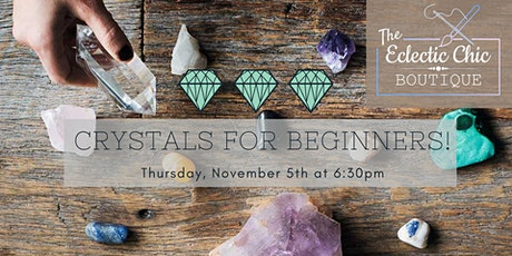 Crystals for Beginners - Virtual Workshop