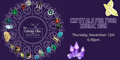 Crystals for Your Zodiac Sign - Virtual Workshop